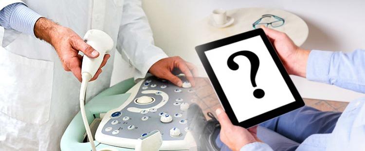 фото ультразвуковой диагностики предстательной железы