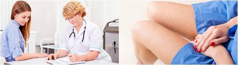 фото консультации врача-гинеколога по лечению эрозии шейки матки в Калинингаде